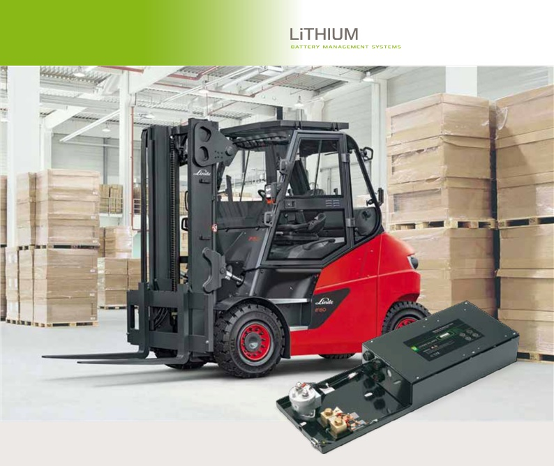 Application Note: Industrial Traction Li-ion Batteries