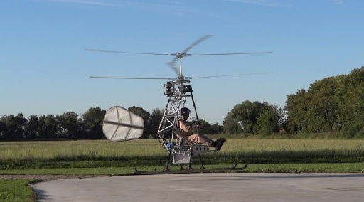 World's First Manned Electric Helicopter